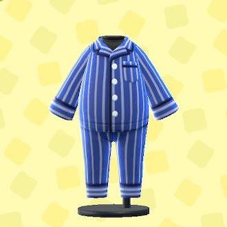あつ森のパジャマのネイビー