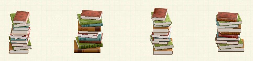 あつ森のつまれたほんのリメイク文学パターン