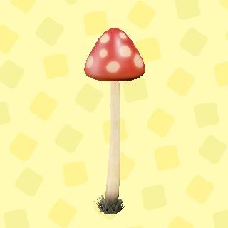 あつ森のキノコのランプのあかキノコ