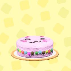 あつ森のははのてづくりケーキのキャット