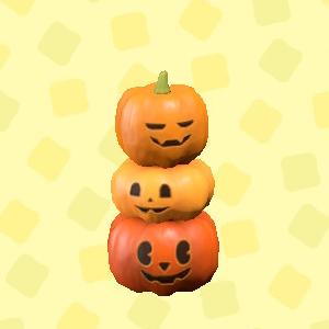 あつ森のハロウィンなタワーのオレンジ