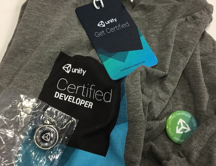 Unity Certified Developerのグッズ