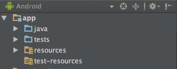 Android Studioでmanifestフォルダが消えてしまった例