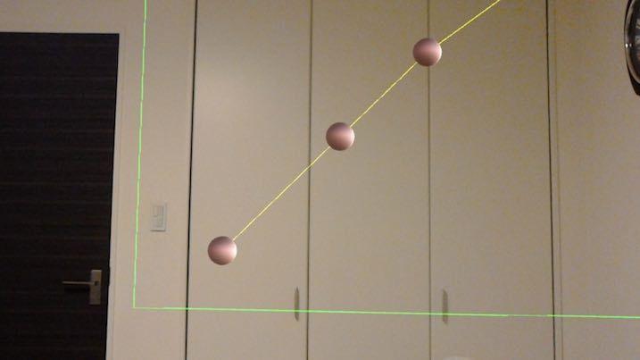 HoloLensでグラフ表現をした例