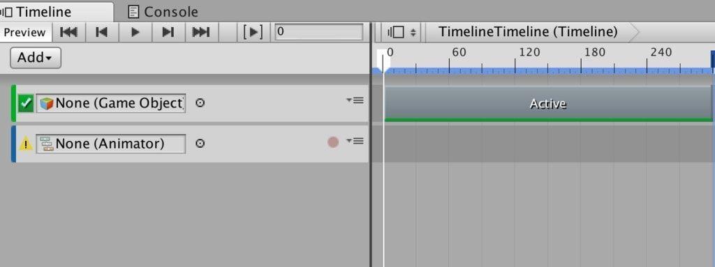 Unityタイムラインに表示したAnimation Track