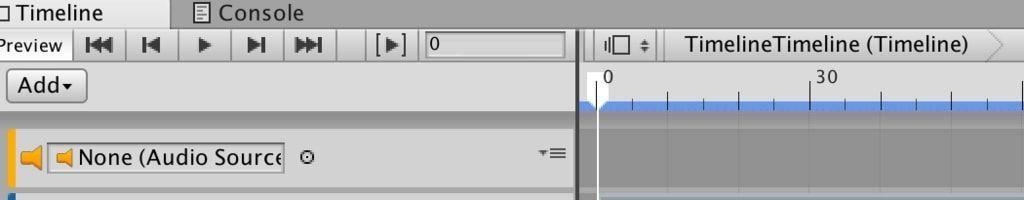 UnityタイムラインのAudio Track