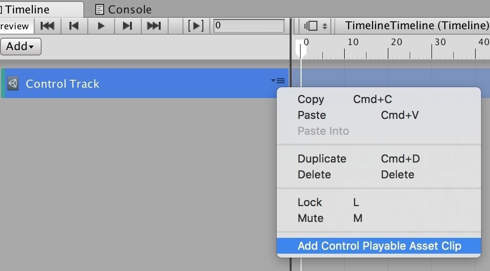 UnityタイムラインのControl Playable Asset