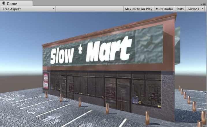 Photoshopで編集したテクスチャをMart_TOPに割り当てた例