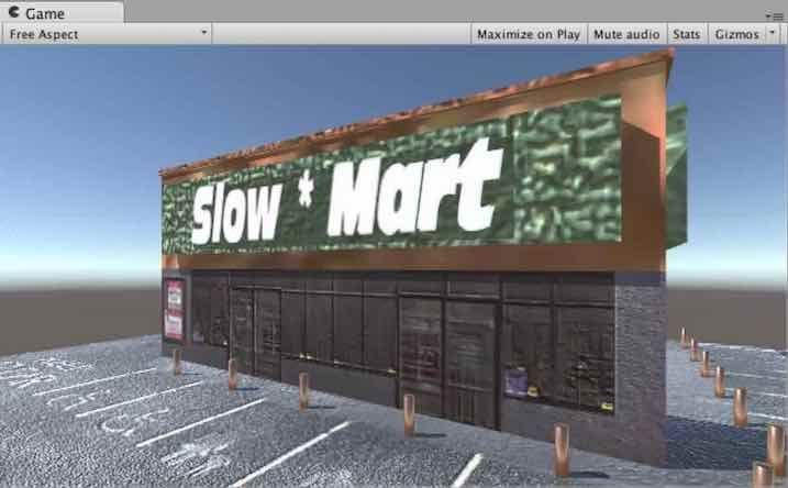 Photoshopで編集したテクスチャからNormal Mapを生成してMart_TOPに割り当てた例
