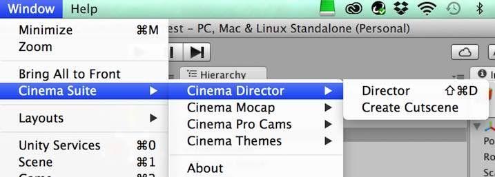 Cinema Directorを始めるための手順