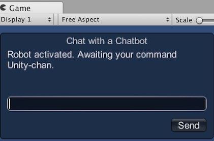 "<get name=""name""/>で""name""で定義された""Unity-chan""が呼び出された例"