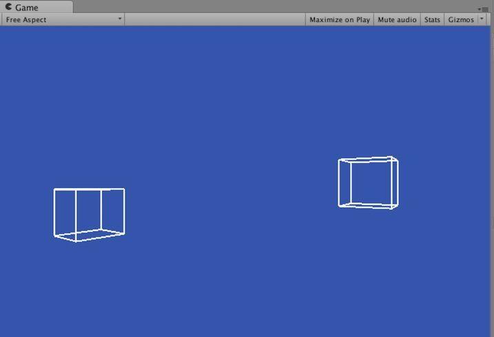 Vectrosityでワイヤーフレームを描いた例