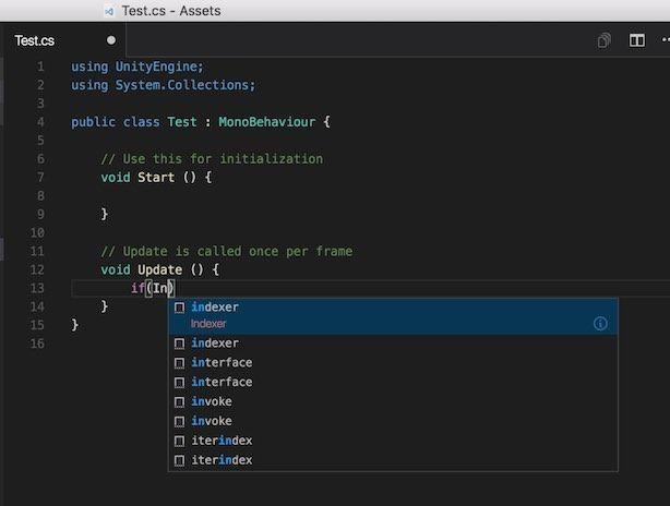Visual Studio CodeでUnityのコード補完ができない状態