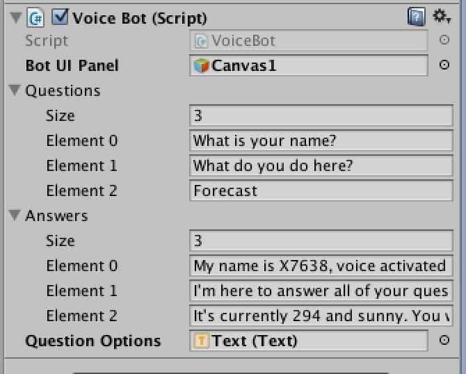 音声認識文字列の設定画面