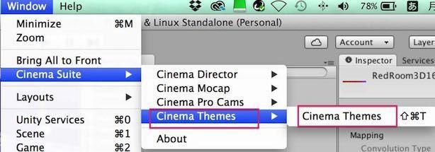 Cinema Themesを使う手順
