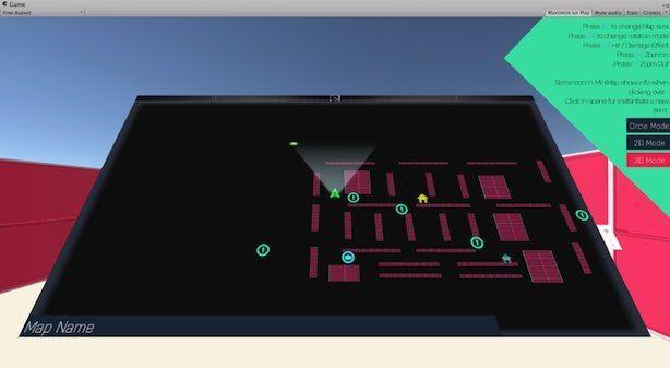 uGUI MiniMapの3Dモー