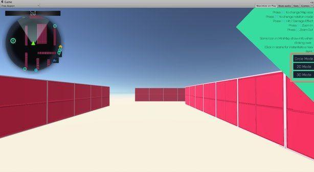 uGUI MiniMapの実行例