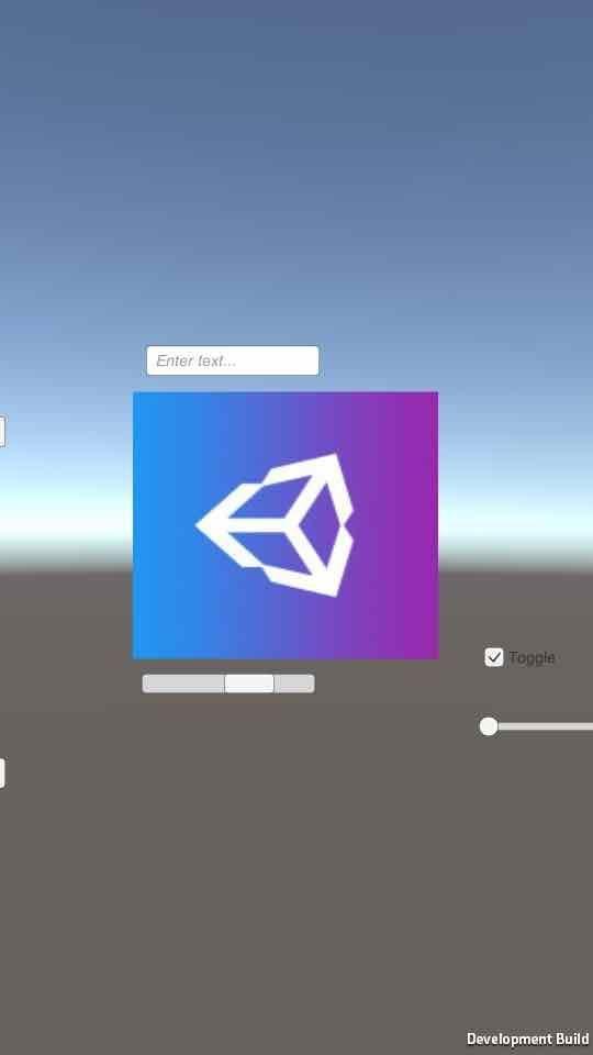 Unityのビルド設定でauto rotationモードにすると縦長で固定され、画面の一部が欠ける