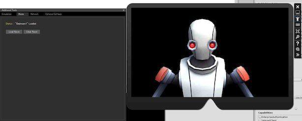 Space Robot KyleをHoloLensエミュレータで表示