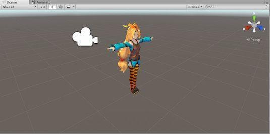 Unity5.4でパッチをあてたあとのユニティちゃん