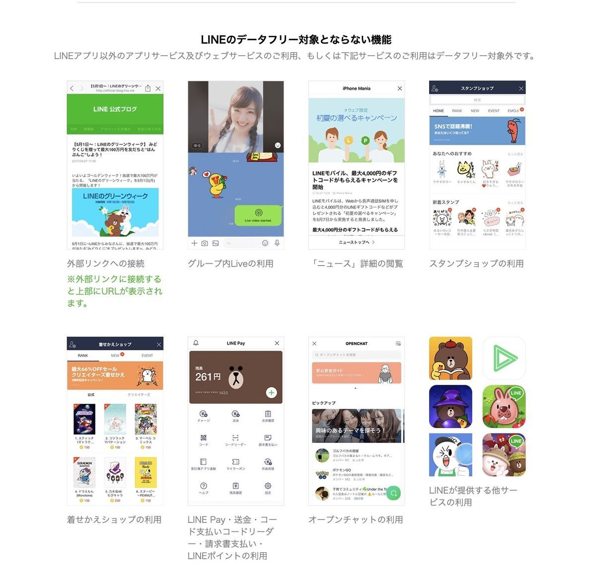 Count free exception usages of LINE mobile