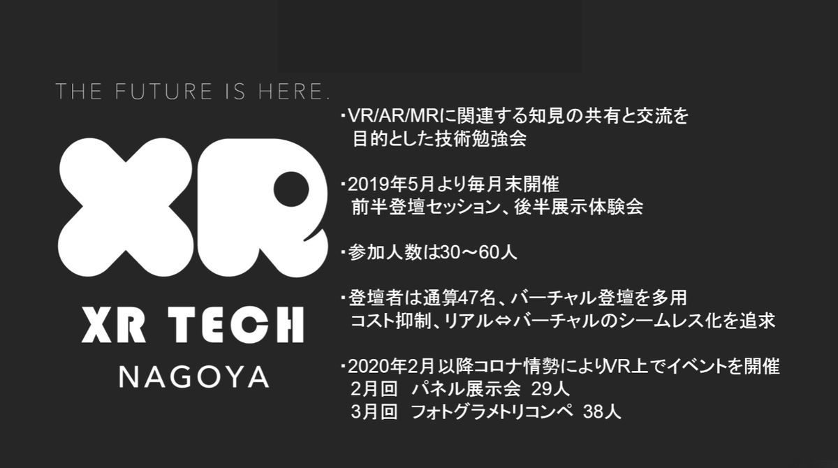 Overview of xrTechNagoya