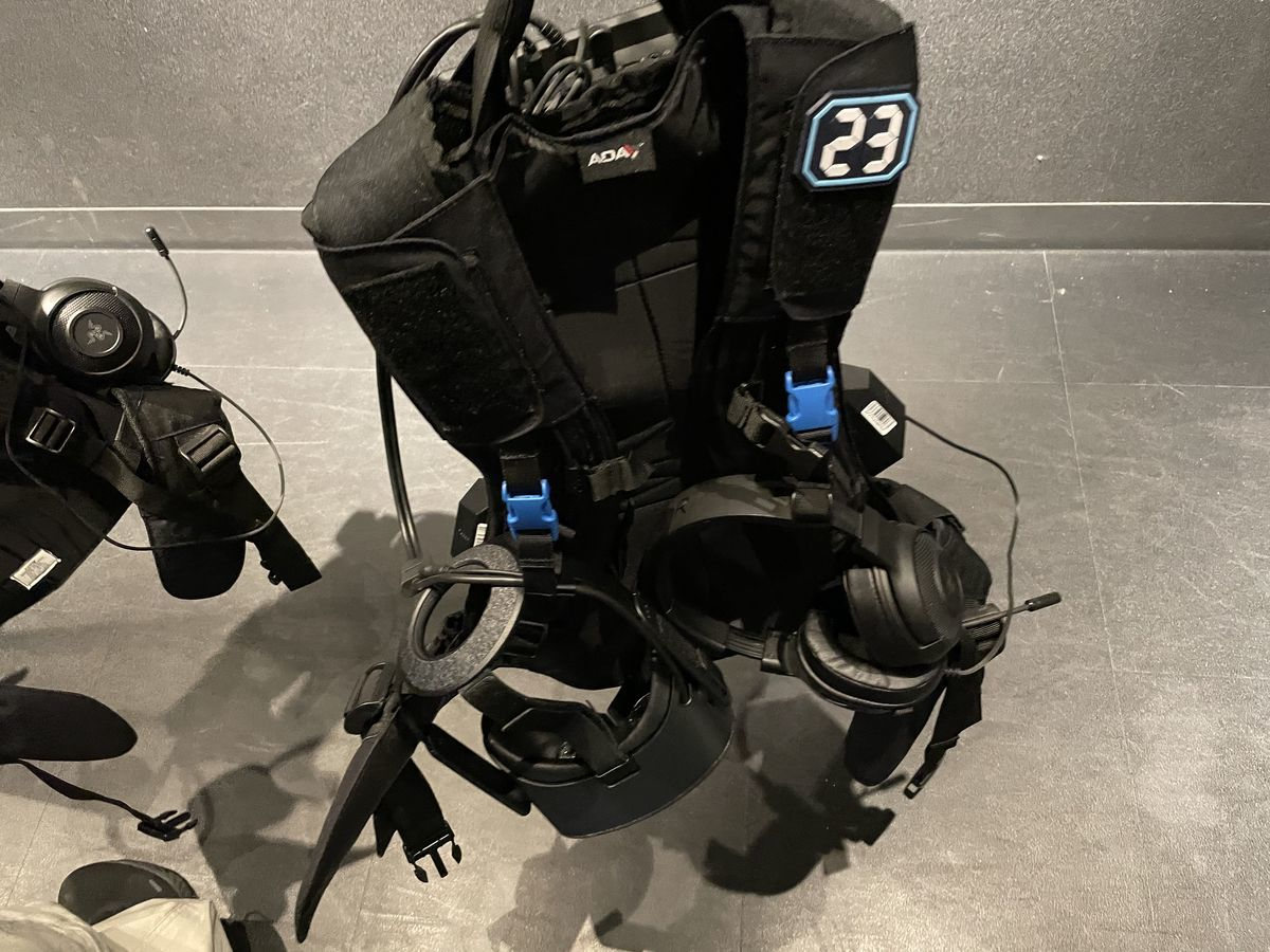 Equipment of ZeroLatencyVR