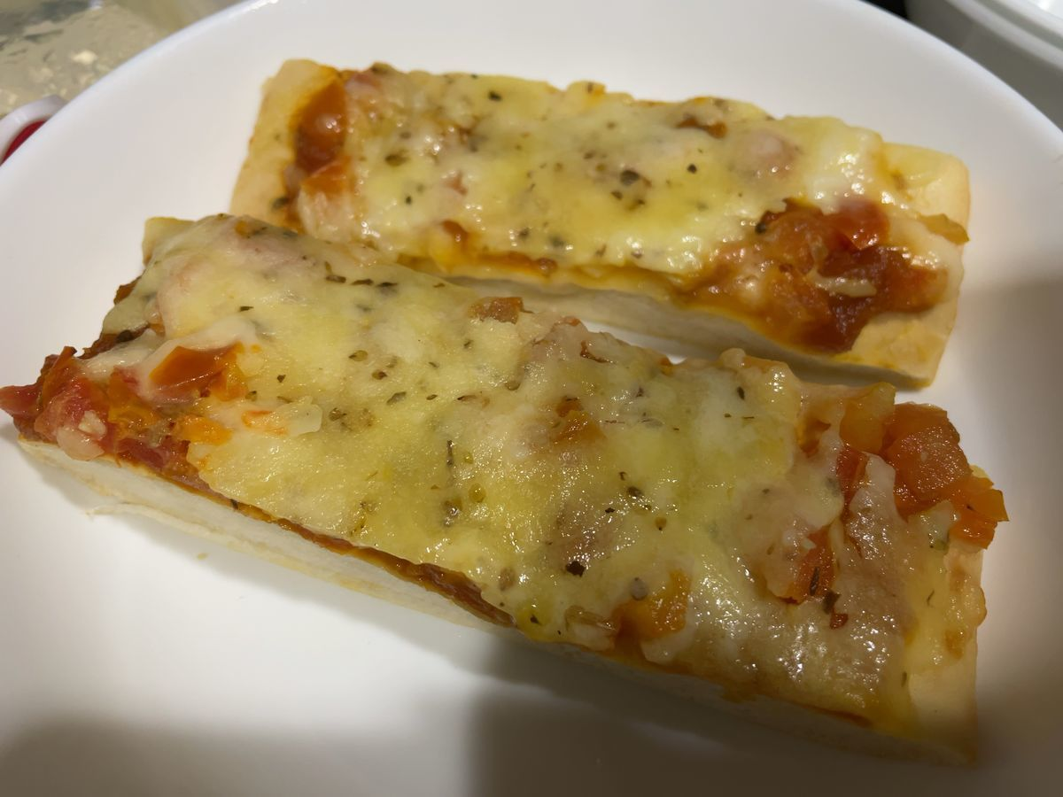 A Pizza from gate gourmet japan