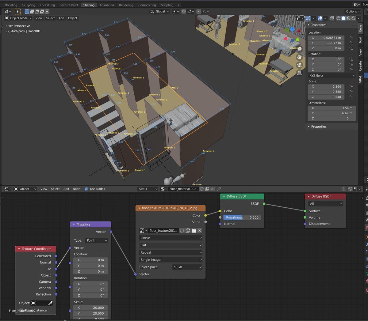 How to open Shading editor on Blender 2.8