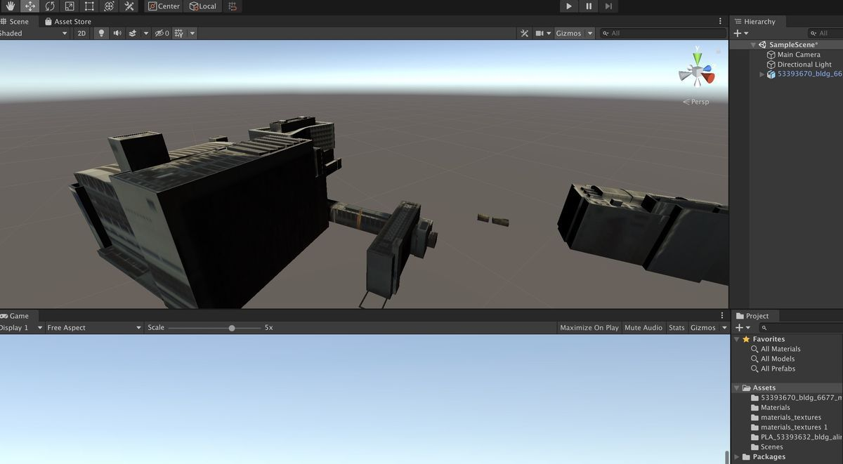 Reflect Textures on imported 3DCG model on Unity 2019
