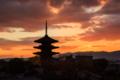 『京都新聞写真コンテスト 夕暮れの古都』