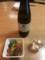 塩すき焼き。お酒は鳳凰美田 WINE CELL
