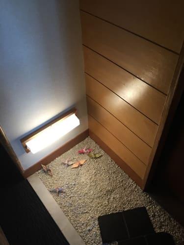 ホテル大野屋折り鶴写真