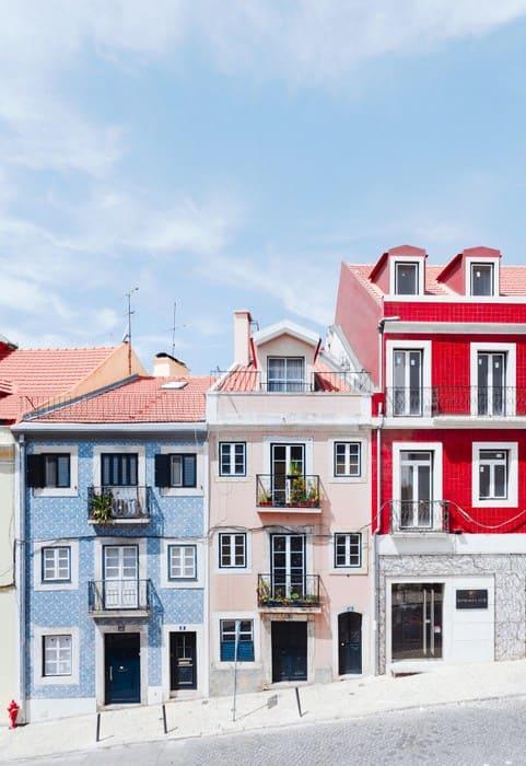 ヨーロッパの集合住宅の写真