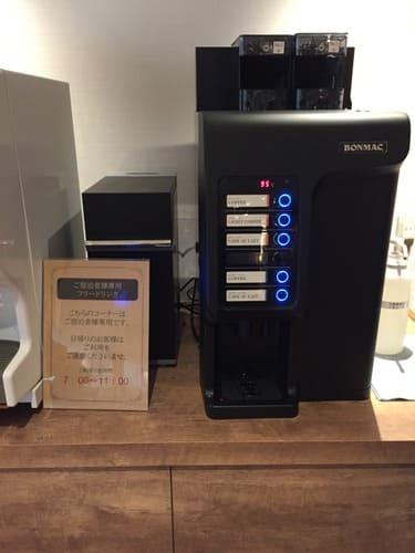 洞爺湖万世閣ホテルのコーヒーメーカー画像