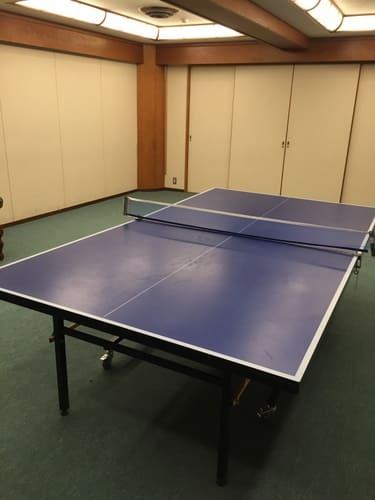 熱海金城館卓球の写真