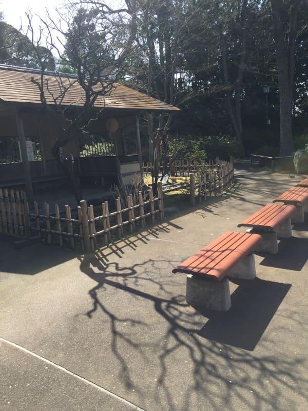 池上梅園の東屋の写真