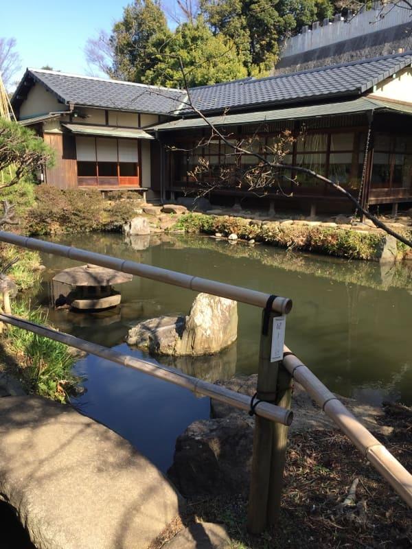 池上梅園の和室写真