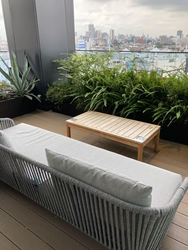 三井ガーデンホテルのロビーテラスの写真