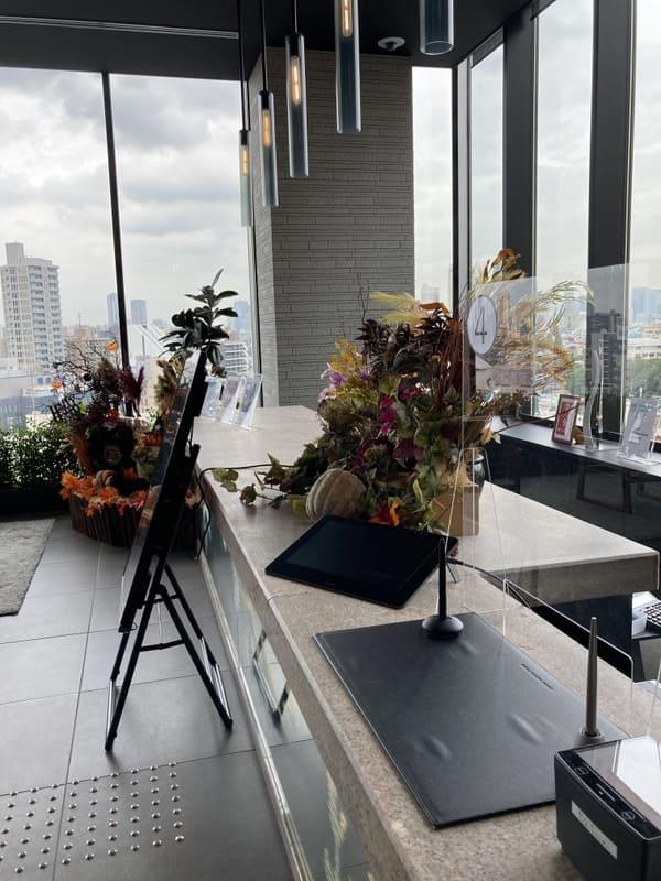 三井ガーデンホテル五反田のフロントの写真