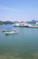 たまゆラッピングフェリー@大崎上島-白水港