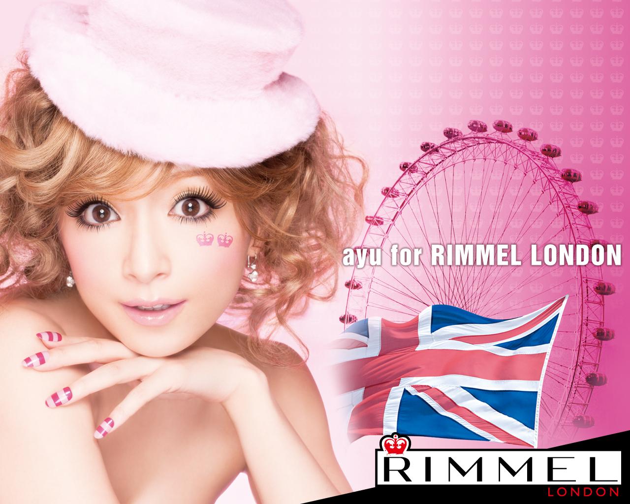 1280×1024 「RIMMEL LONDON」