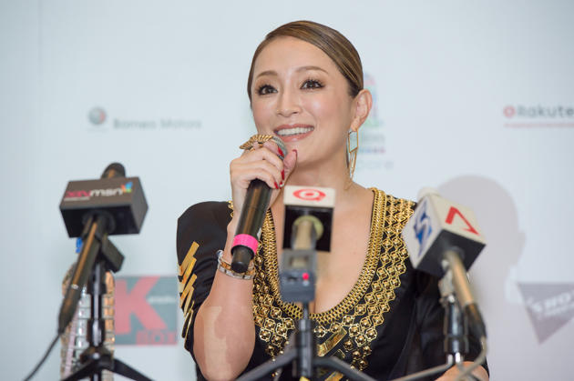 [浜崎あゆみ][Hamasaki][a-nation][singapore][Premium][Showcase]