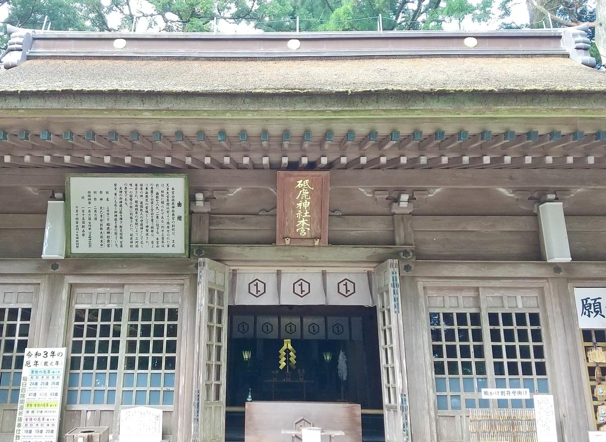 Main shrine(御本殿)