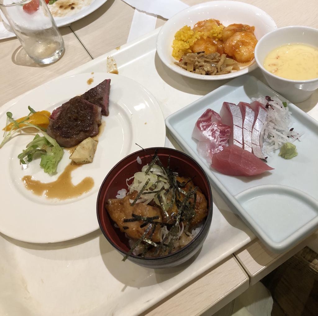 杉の井ホテル 食事
