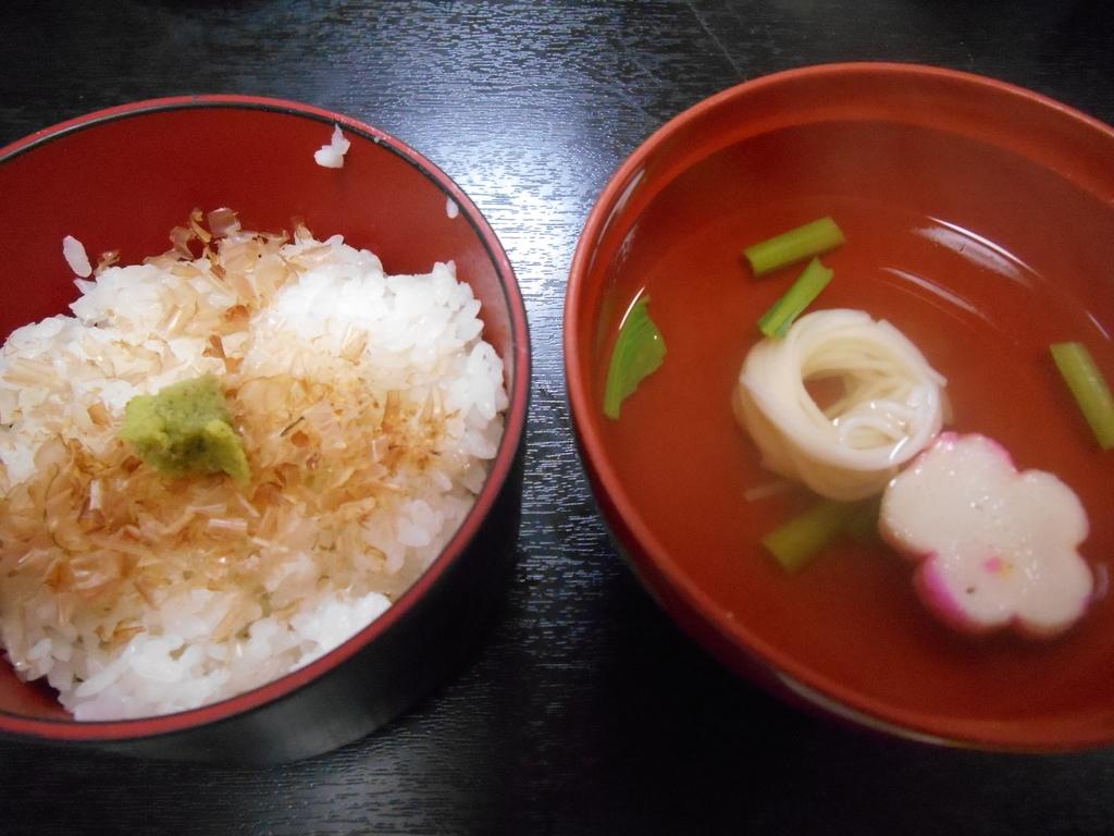 福田家 食事