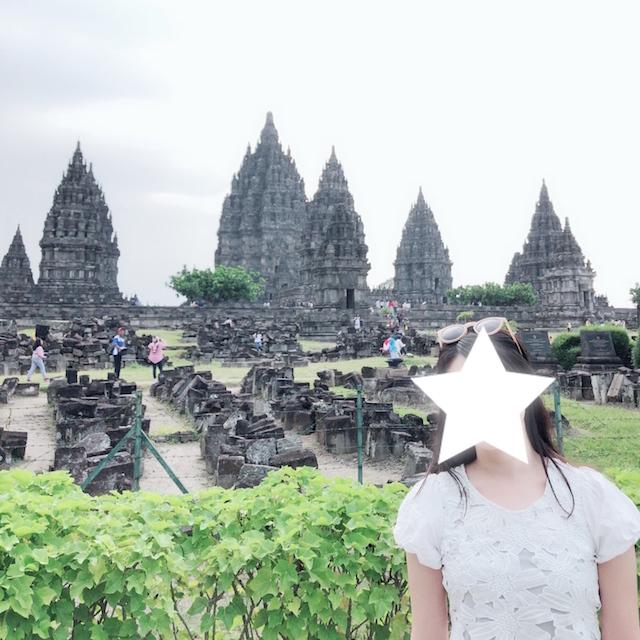 世界遺産プランバナン寺院
