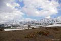 [北海道][大雪山][十勝岳連峰]早春の十勝岳連峰