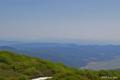 [北海道][三頭山]三頭山頂上より大雪山連峰を望む