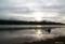 早朝の糠平湖